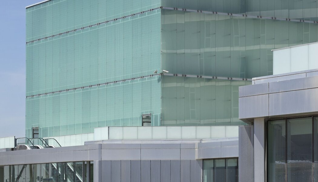 CW 50-SC Curtain Walls, CW 65-EF Curtain Walls and CS 77 Windows - Congress center Etopia Centre for Art and Technology located in Spain