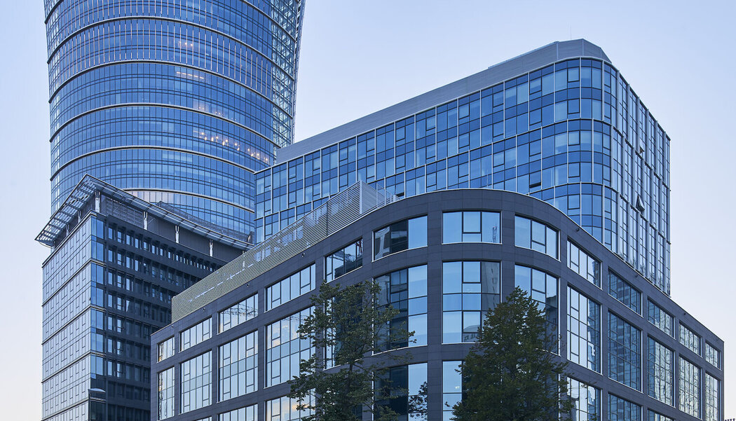 CW 50-HI Curtain Walls - Office building Wronia 31 located in Waddinxveen, Poland