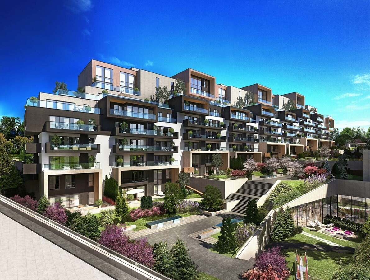 CP 130 (-LS) Sliding Systems and CS 68 Windows - Residental/Project Next Level located in Ankara, Turkey