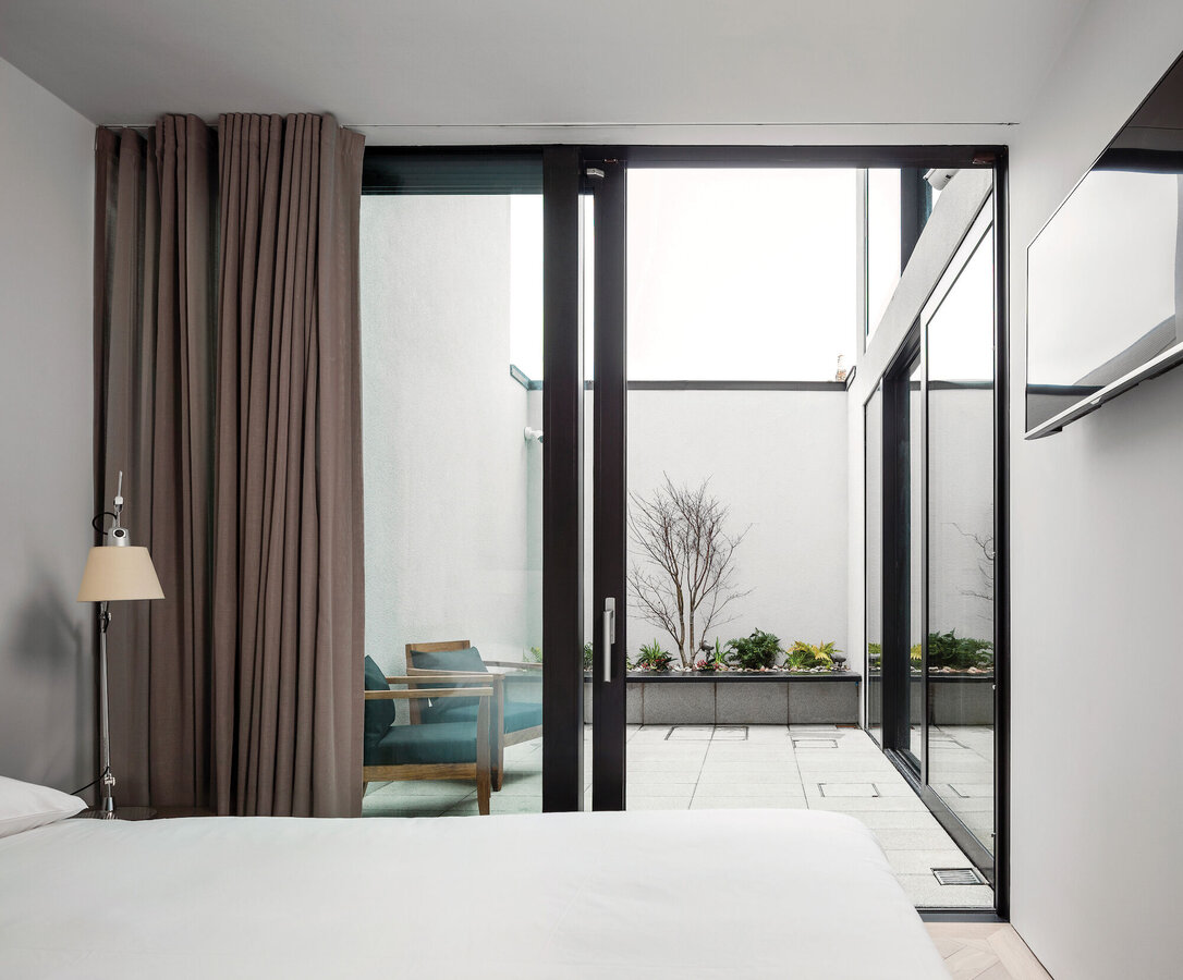 CS 77 Fire Proof Doors, CP 155 (-LS) Sliding Systems and CS 77 Doors - House Percy Lane located in Dublin, Ireland