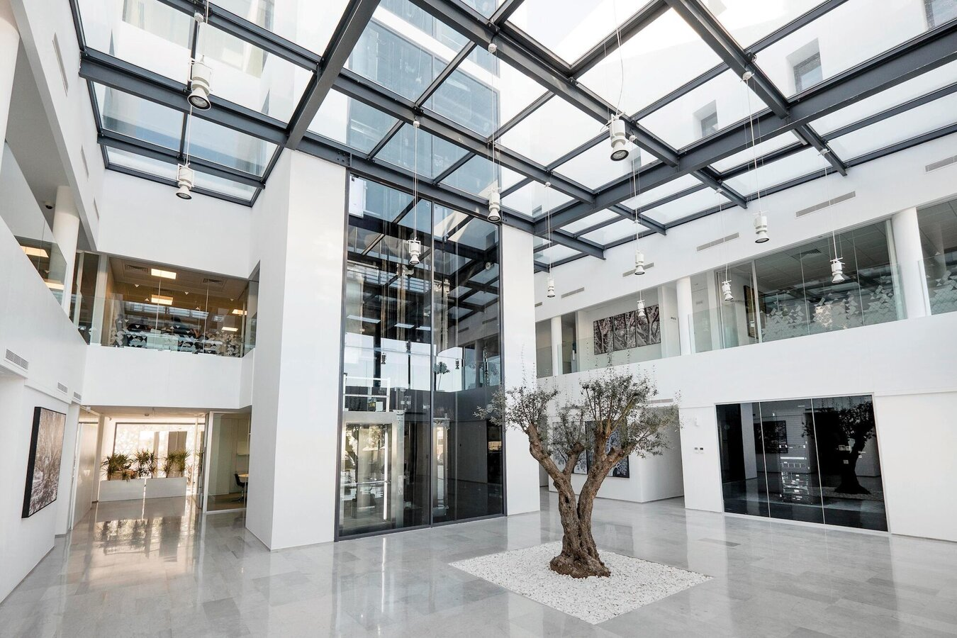 CW 50-RA/FRV Curtain Walls, ES 45Pa Windows, CW 50 Curtain Walls, CS 77 Doors and CP 45Pa Sliding Systems - Wevioo located in Troisvierges, Tunisia
